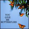 Butterfly avatars