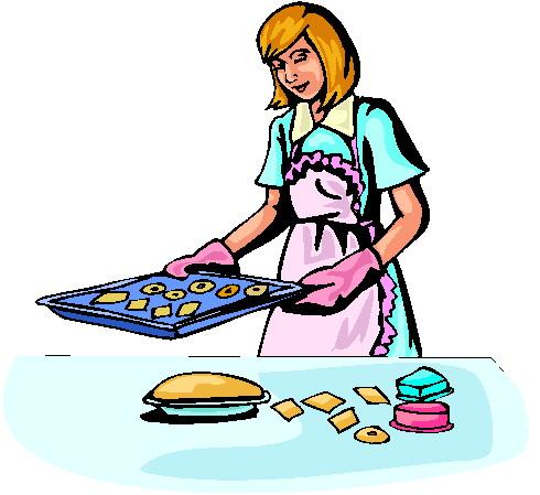 Baking A Cake Clip Art : Clip Art - Clip art baking 012049