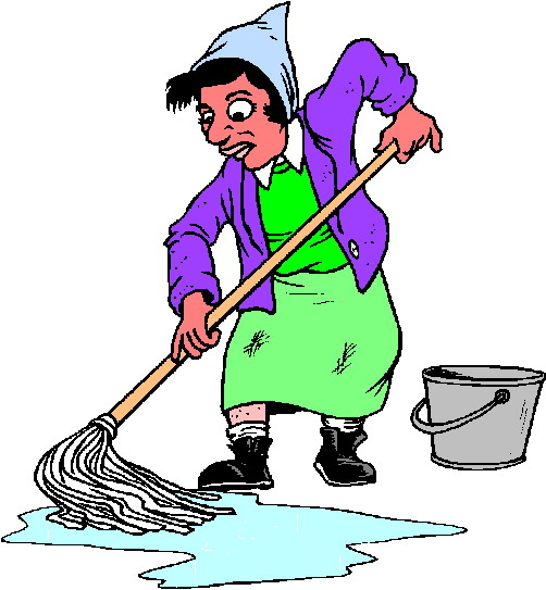 Cleaning clip art