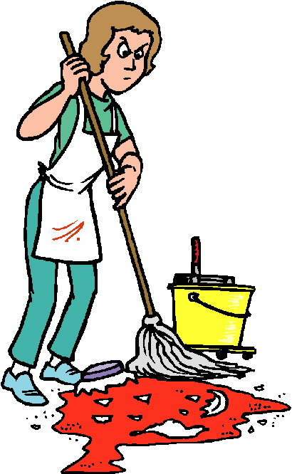 free clipart kitchen cleaning - photo #28