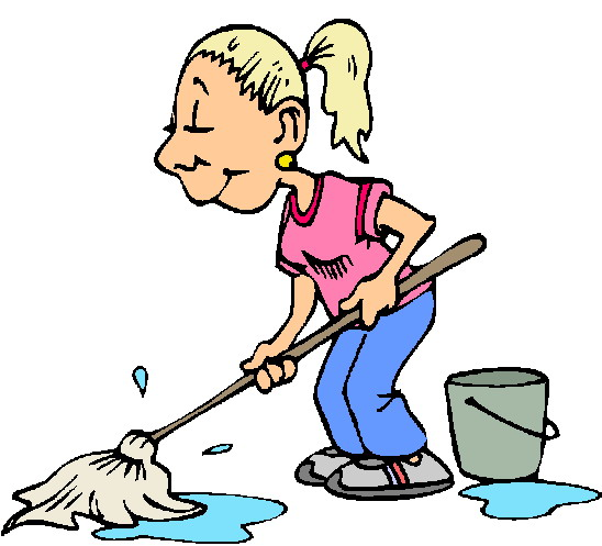 free clipart kitchen cleaning - photo #29