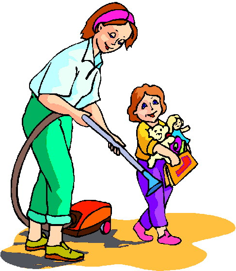 Clip art   187  Cleaning Clip artClean Child Clipart