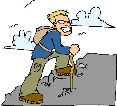 Climbing clip art