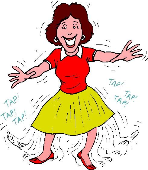 Картинки анимация танцующая бабушка