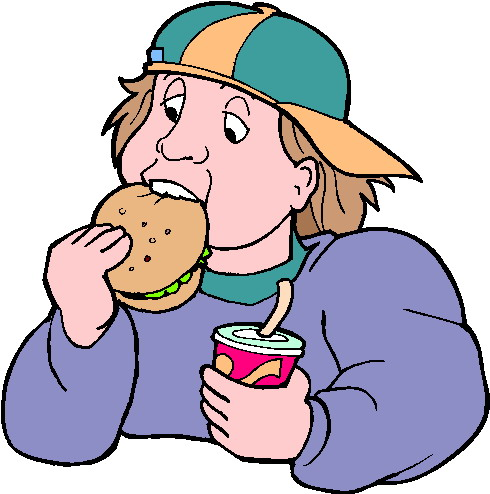 Clip Art - Clip art eating 474136