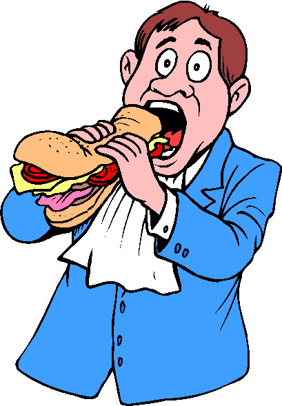 Clip Art - Clip art eating 745937
