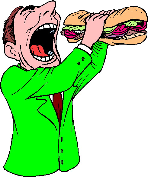 Clip Art - Clip art eating 921466