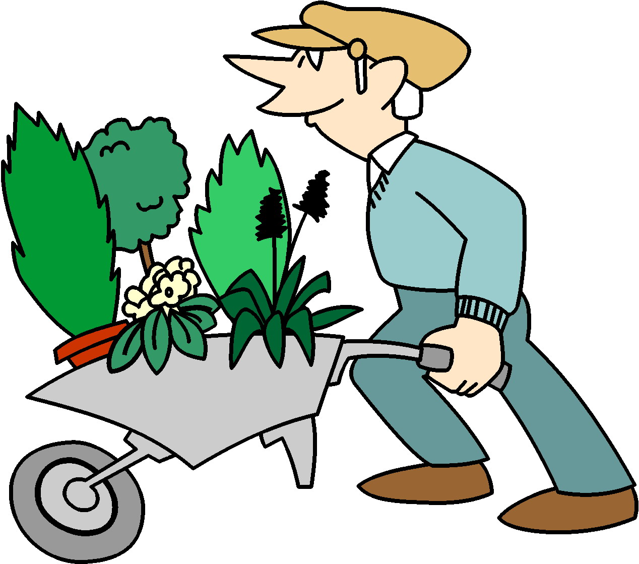 clipart garden images - photo #14