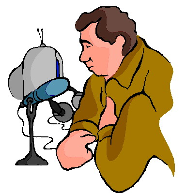 Interviewing clip art