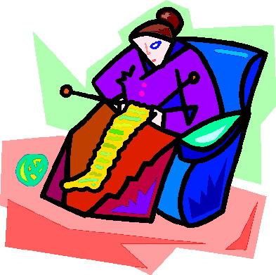 Knitting clip art