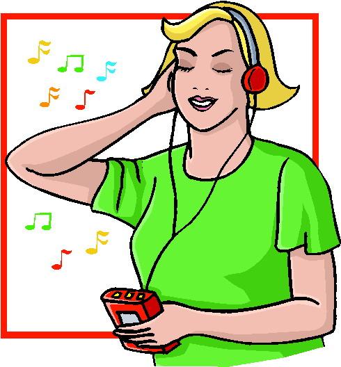Pics Photos - Clip Art Listening To Music Clip Art