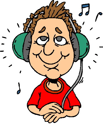 clip art activities listening to music picgifs com rh picgifs com man listening to music clipart listening to music clipart black and white