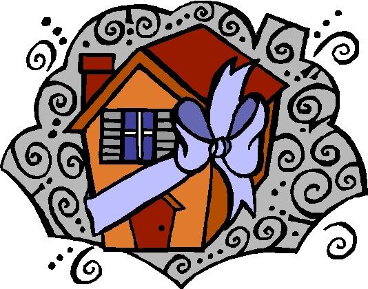 Living together clip art