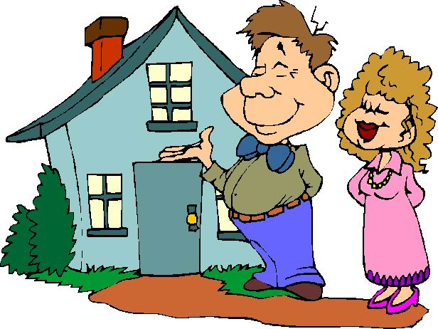 Living together clip art