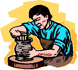 Clip art Activities Making pottery