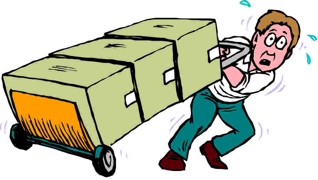 free clip art office move - photo #1