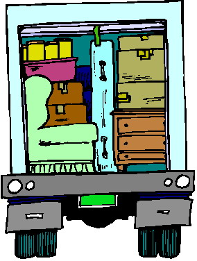 Moving clip art When is the best time to move house