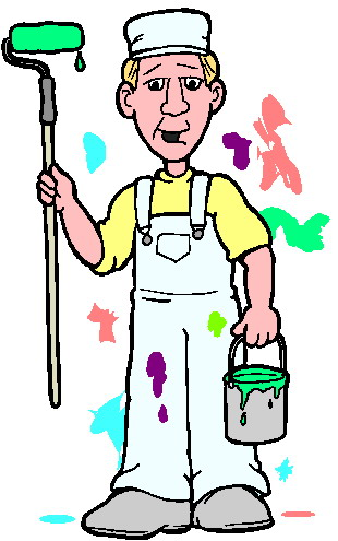 Clip Art Activities Painting