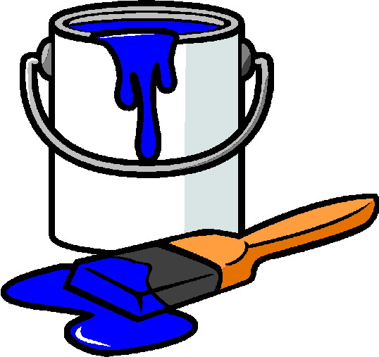 Painting clip art