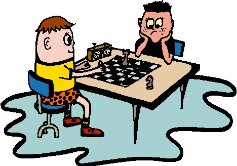 Chess Clipart Playing chess clip art