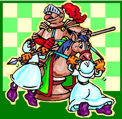 Playing chess clip art