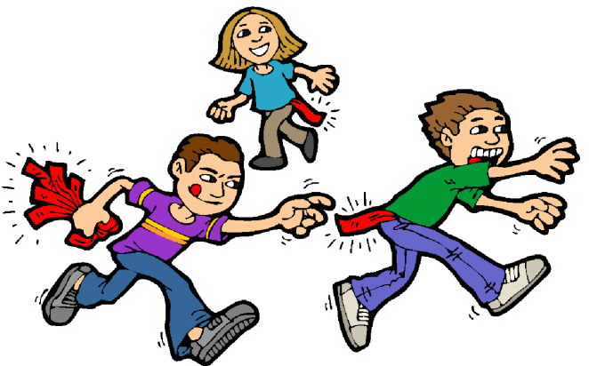 Clip Art - Clip art playing children 088712
