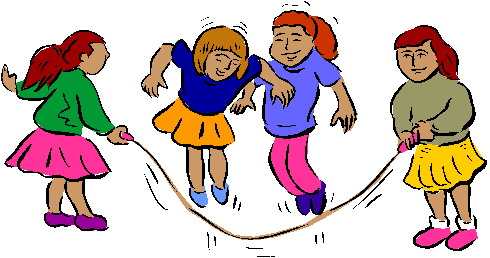 Clip art » Playing children Clip art