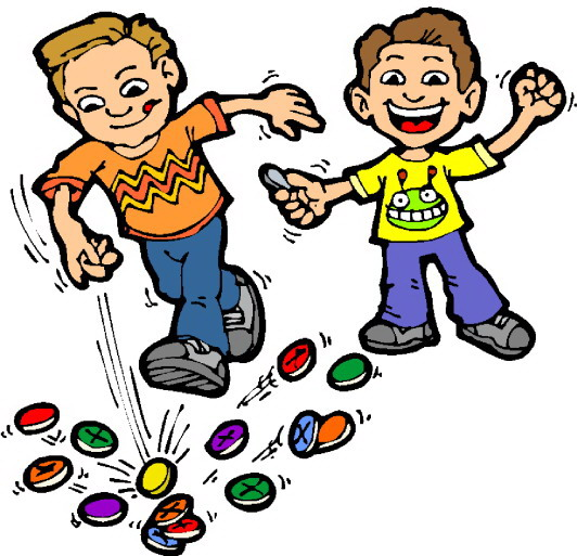 Kids Playing Card Games Clip Art Playing children clip art
