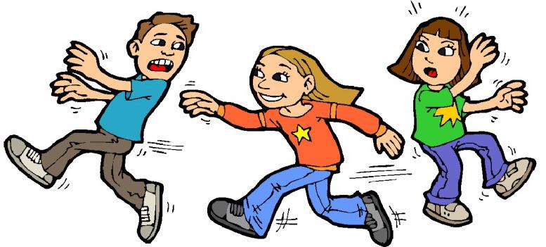 Clip art playing children clip art