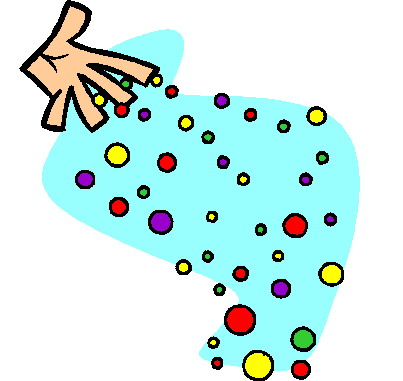 Playing marbles clip art