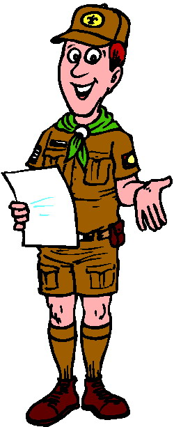 Scouting clip art