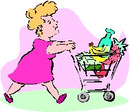 Clip art Activities Shopping