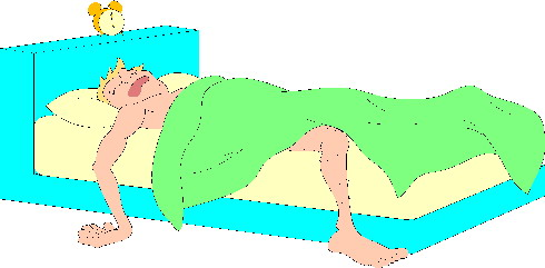 Sleeping clip art
