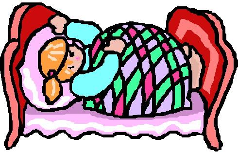 Sleeping Clip art Activities