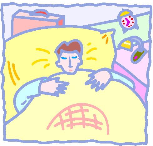 Sleeping clip art