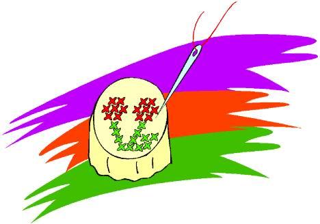 Stitching clip art