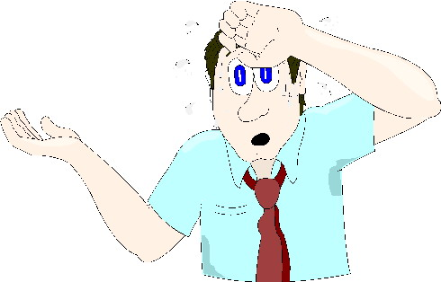 Sweating clip art