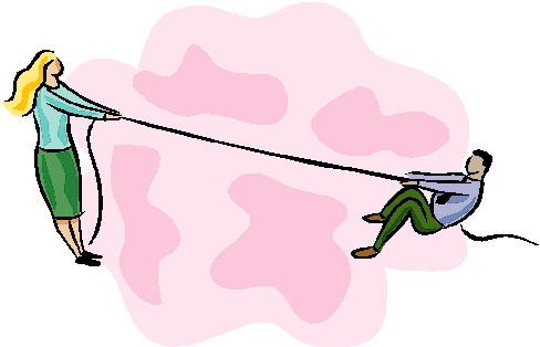 Tug of war clip art