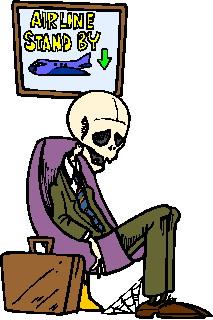 Waiting clip art