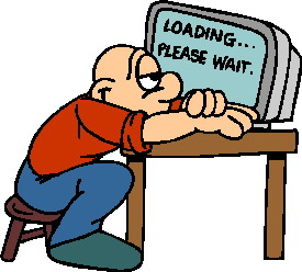 Waiting clip art