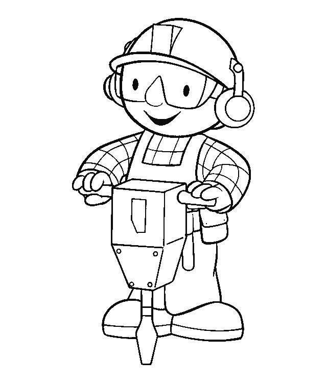 Bob the builder clip art