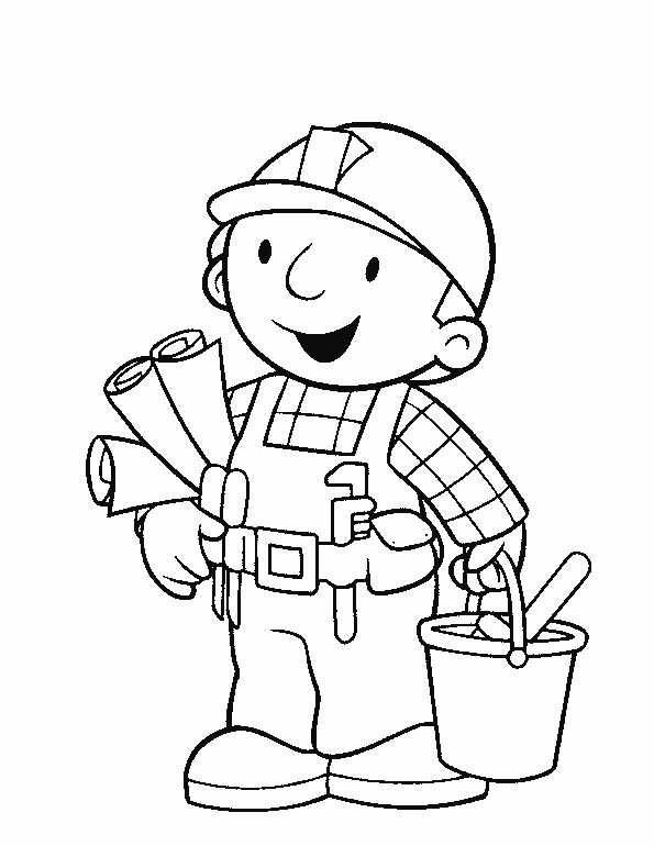 builders coloring pages - photo#30