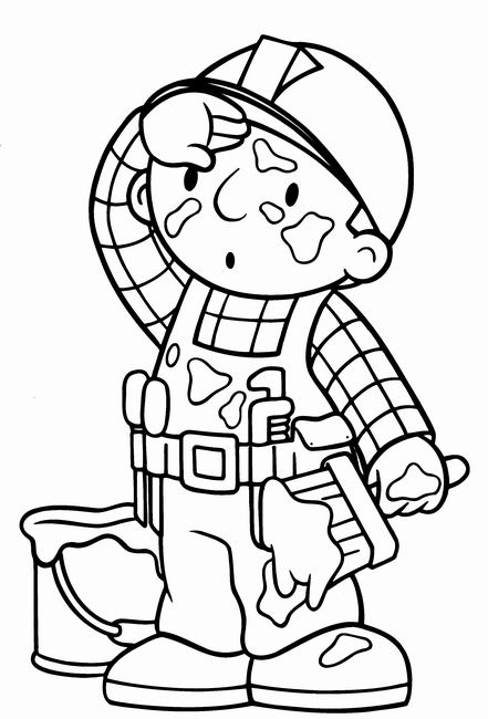 Bob the builder clip art
