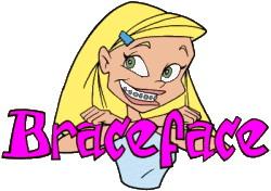 Braceface clip art