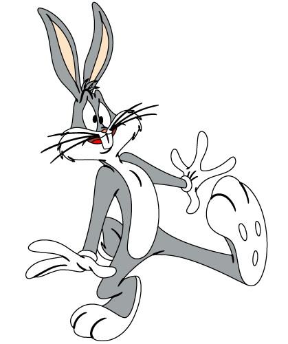 Bugs bunny clip art