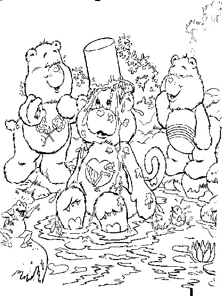 Care bears clip art