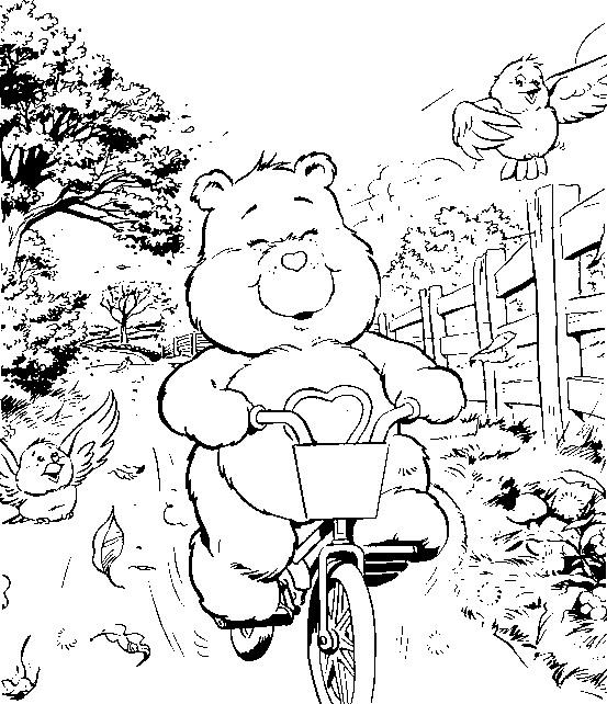 Care bears clip art