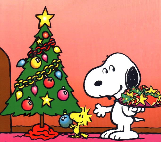 cartoons clip art christmas snoopy