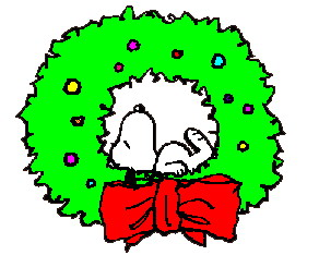 Christmas snoopy clip art