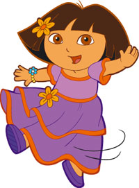 Dora the explorer clip art